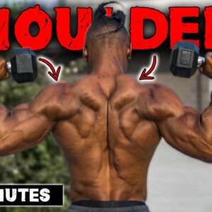15 MINUTE DUMBBELL ONLY SHOULDERS & TRAPS WORKOUT