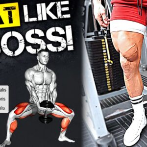 High Intensity LEG DAY! Save & Try this Big Legs Workout