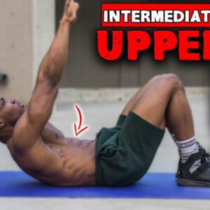 10 MINUTE UPPER ABS WORKOUT (NO EQUIPMENT) | INTERMEDIATE | LEVEL 2 ABS