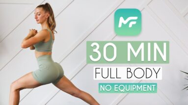 30 MIN FULL BODY WORKOUT No Equipment (From the MadFit App)