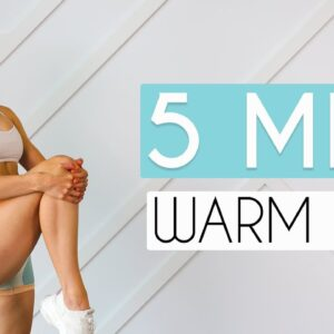 5 MIN WARM UP FOR AT HOME WORKOUTS (No Jumping)