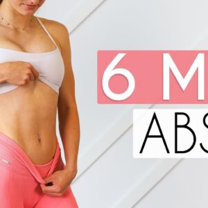 6 MIN FLAT ABS WORKOUT (At Home No Equipment)