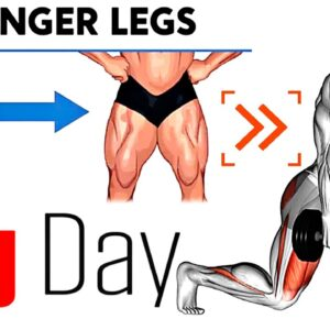 Do These 10 Exercises to Get Massive and Strong Legs!