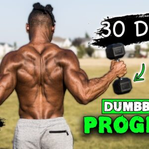 30 DAY DUMBBELL WORKOUT PROGRAM | BUILD MUSCLE & BURN FAT AT THE SAME TIME! | 'GOGETA'