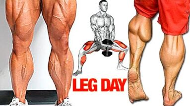 The Perfect Leg Workout to Build Strong Legs