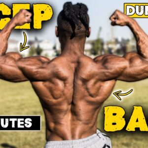 20 MINUTE DUMBBELL BACK & BICEPS WORKOUT | TONE YOUR BACK & BICEPS!