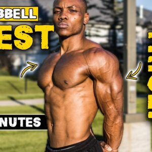 20 MINUTE DUMBBELL CHEST & TRICEPS WORKOUT | BURN FAT & BUILD MUSCLE