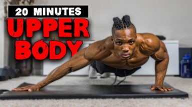 20 MINUTE UPPER BODY WORKOUT (NO EQUIPMENT)   FOR BEGINNERS ALSO! #2