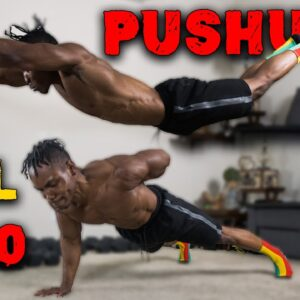 50 PUSHUP VARIATIONS | PUSHUPS FROM LEVEL 1 TO 50!