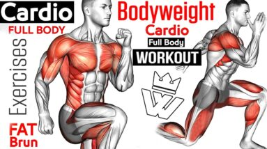 8 Bodyweight Exercises You Can Do at Anywhere!