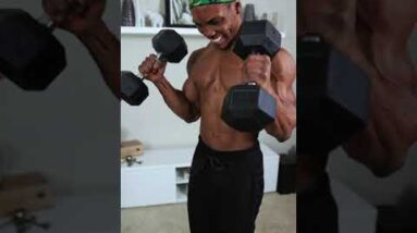 FULL BODY Dumbbell Workout at home!