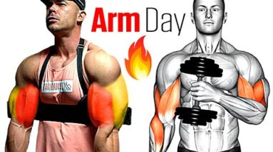 How to Build Massive Arms fast (Biceps Triceps Workout)