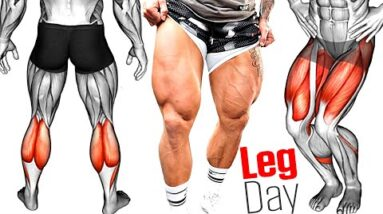 LEG DAY: How to Build Strong and Massive Legs