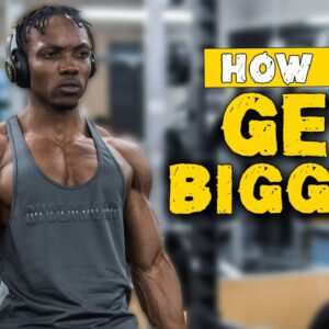 3 MAJOR EXERCISES YOU SHOULD TO BE DOING TO GET BIGGER! (BARBELL OR DUMBBELLS)