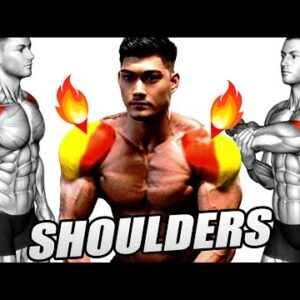 Perfect Gym Shoulder Workout - 10 Exercises You Should Be Doing