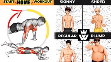 At Home Workout Plan 💪 Muscle Booster for Your Body