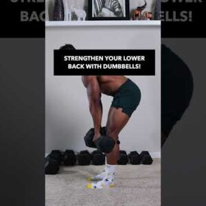 Train and Strengthen LOWER BACK with DUMBBELLS!